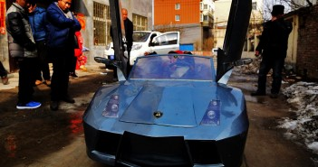 homemade-miniature-Lamborghini-electric-sports-car-china